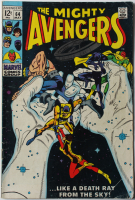 "1969 ""The Avengers"" Issue #64 Marvel Comic Book at PristineAuction.com"