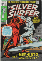 "1970 ""Silver Surfer"" Issue #16 Marvel Comic Book at PristineAuction.com"