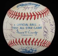 1991 Toronto All-Star Game Baseball Signed By (32) with Tony Gwynn, Ryne Sandberg, Craig Biggio, Tom Glavine, Eddie Murray (PSA LOA) at PristineAuction.com