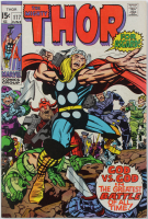 "1970 ""The Mighty Thor"" Issue #177 Marvel Comic Book at PristineAuction.com"