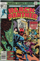 "1977 ""Black Panther"" Issue #3 Marvel Comic Book at PristineAuction.com"