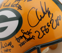 Super Bowl XXXI Champions Packers Full-Size Authentic On-Field Helmet Team-Signed by (23) With Brett Favre, Ron Wolf, Leroy Butler, Gilbert Brown, Antonio Freeman, Mark Chmura (Radtke COA) at PristineAuction.com