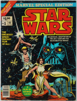 """Vintage """"Star Wars"""" Issue #1 Special Edition Marvel Comic Book at PristineAuction.com"""