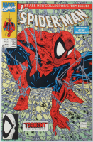 """1990 """"Spider-Man: The Legend of the Arachknight"""" Issue #1 Marvel Comic Book at PristineAuction.com"""