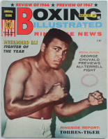 1967 Boxing Illustrated Muhammad Ali Cover Magazine at PristineAuction.com