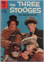 "Vintage 1960 ""The Three Stooges"" Issue #1078 Dell Comic Book at PristineAuction.com"