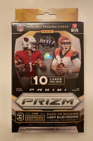 2020 NFL Prizm Football Target Hanger Box with (10) Cards at PristineAuction.com