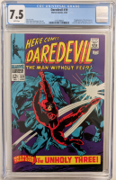 "1968 ""Daredevil"" Issue #39 Marvel Comic Book (CGC 7.5) at PristineAuction.com"