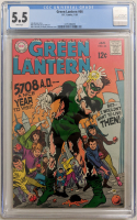 "1969 ""Green Lantern"" Issue #66 DC Comic Book (CGC 5.5) at PristineAuction.com"