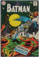 "1968 ""Batman"" Issue #204 DC Comic Book at PristineAuction.com"