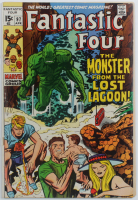 "1970 ""Fantastic Four"" Issue #97 Marvel Comic Book at PristineAuction.com"