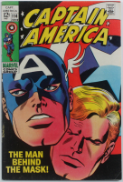 "1969 ""Captain America"" Issue #114 Marvel Comic Book at PristineAuction.com"