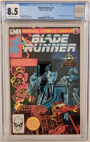 "1982 ""Blade Runner"" Issue #1 Marvel Comic Book (CGC 8.5) at PristineAuction.com"