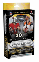 2020 Panini Prizm Football Hanger Box with (20) Cards at PristineAuction.com