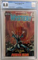 "1972 ""House of Mystery"" Issue #198 DC Comic Book (CGC 8.0) at PristineAuction.com"