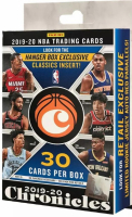 2019-20 Panini Chronicles Basketball Card Hanger Box with (30) Cards at PristineAuction.com