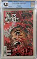 "2019 ""Absolute Carnage: Miles Morales"" Issue #2 David Nakayama Variant Marvel Comic Book (CGC 9.8) at PristineAuction.com"
