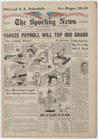 Vintage 1962 Yankee Payroll Tops 800 Grand The Sporting News Newspaper at PristineAuction.com