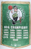 Celtics NBA Champions 35.5x58.5 Banner at PristineAuction.com