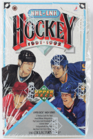 1991-92 Upper Deck Hockey Wax Box with (36) Packs at PristineAuction.com
