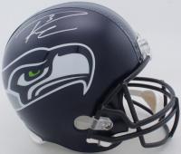 Russell Wilson Signed Seahawks Full-Size Helmet (PSA COA & Wilson Hologram) at PristineAuction.com