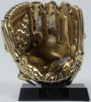 Brooks Robinson Signed Mini Golden Glove with Multiple Inscriptions with Display Stand (PSA COA) at PristineAuction.com