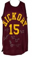Jersey Cast-Signed by (8) With Gene Hackman, David Neidorf, Brad Long, Scott Summers (Beckett LOA) at PristineAuction.com