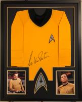 "William Shatner Signed ""Star Trek"" 34x42 Custom Framed Uniform Shirt (JSA COA) at PristineAuction.com"