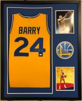 """Rick Barry Signed 34x42 Custom Framed Jersey Inscribed """"HOF 1987"""" (JSA COA) at PristineAuction.com"""