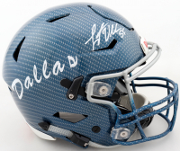 Leighton Vander Esch Signed Cowboys Full-Size Authentic On-Field Hydro-Dipped SpeedFlex Helmet (Beckett Hologram) at PristineAuction.com