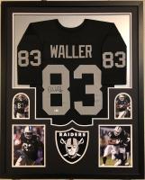 Darren Waller Signed 34x42 Custom Framed Jersey (Beckett COA) at PristineAuction.com