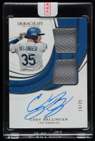 Cody Bellinger 2019 Immaculate Collection Clutch Dual Memorabilia Autographs #DMACB (Panini Encapsulated) at PristineAuction.com
