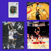Schwartz Sports Basketball Collection Mystery Box – Series 1 (3 Autographed Basketball Collectibles In Every Box) at PristineAuction.com