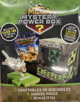 Minecraft MEGA Mystery Power Box? Meijer Exclusive at PristineAuction.com