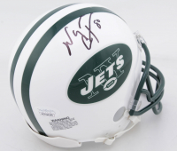 Wayne Chrebet Signed Jets Mini Helmet (JSA COA) at PristineAuction.com