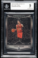 Trae Young 2018-19 Panini Chronicles #575 Obsidian Preview RC (BGS 9) at PristineAuction.com