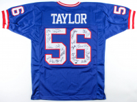 Giants Super Bowl XXI & XXV Champions Jersey Team-Signed by (26) with Lawrence Taylor, Phil Simms, Jeff Hostetler, Carl Banks, Ottis Anderson (Schwartz Sports COA) at PristineAuction.com