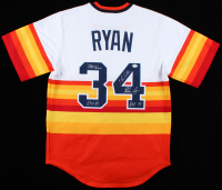 Nolan Ryan Signed Astros Jersey with Multiple Inscriptions (PSA COA) at PristineAuction.com
