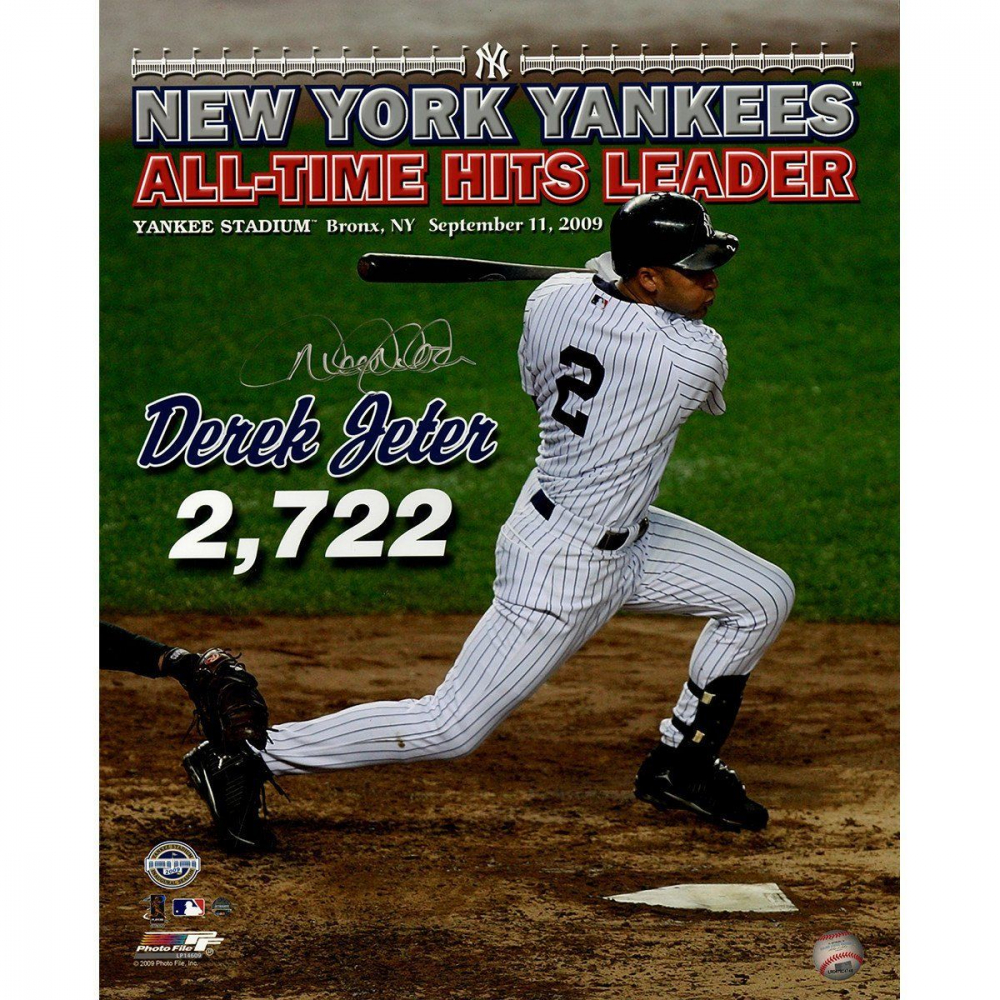 Derek Jeter Signed Yankees 16x20 Photo (Steiner Hologram) at PristineAuction.com