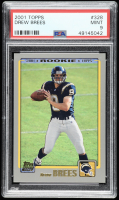 Drew Brees 2001 Topps #328 RC (PSA 9) at PristineAuction.com