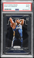 Zion Williamson 2019-20 Panini Prizm #248 RC (PSA 9) at PristineAuction.com