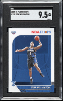 Zion Williamson 2019-20 Hoops #258 RC (SGC 9.5) at PristineAuction.com