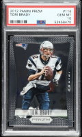 Tom Brady 2012 Panini Prizm #116  (PSA 10) at PristineAuction.com