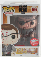 """David Morrissey Signed """"The Walking Dead"""" #66 The Governor Funko Pop! Vinyl Figure Inscribed """"The Governor"""" (Beckett COA) at PristineAuction.com"""