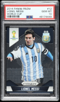Lionel Messi 2014 Panini Prizm World Cup #12 (PSA 10) at PristineAuction.com