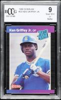 Ken Griffey Jr. 1989 Donruss #33 RR RC (BCCG 9) at PristineAuction.com