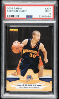 Stephen Curry 2009-10 Panini #307 RC (PSA 9) at PristineAuction.com