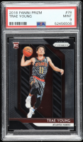 Trae Young 2018-19 Panini Prizm #78 RC (PSA 9) at PristineAuction.com