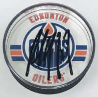 Paul Coffey Signed Oilers Acrylic Hockey Puck (UDA COA) at PristineAuction.com