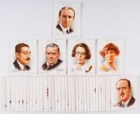 """1937 Will's """"Famous British Authors"""" Complete Set of (40) Cigarette Cards with H.G. Wells & G.K. Chesterton at PristineAuction.com"""